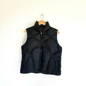 Obermeyer Quilted Puffer Vest Womens size 6 Black